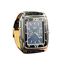 W688 Tri-band Watch Style Cell Phone Black