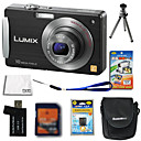 Panasonic Lumix DMC-fx520 (FX500) cmera digital 10.7mp + Carto SD de 4 GB + Bateria extra + 6 bnus
