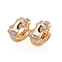 18K Stylish Cubic Zirconia Earring - CZ Earring EYX3-0021 (SZY452)