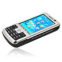 ZOHO V98 Quad Band Dual Sim Card TV Function Cell Phone Silver + Free 256MB TF Card