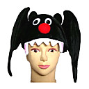 halloween costume noir bat chapeau (szws086)