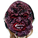 Scary Latex Devil Halloween Mask with Hair For Adult (SZWS025)