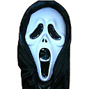 Scary Latex Death Devil Halloween Mask For Adultt (SZWS027)
