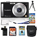 Panasonic Lumix DMC-FS5 10.7mp fotocamera digitale da 4 GB + SD + batteria + 6 bonus (szw615)