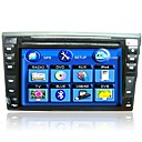 6.2-inch Touch Screen 2 Din In-Dash Car DVD Player Built-in GPS Function XD-6200G