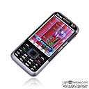 WanShiDa 6292 Dual Card Dual Camera Touch Screen Cell Phone Black(SZR419)
