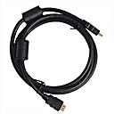 2M HDMI Cable Male to Male 28AWG with Ferrite Core for PS3 DVD HDTV(Z-502)