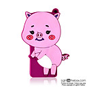 1gb Cartoon Wildschwein mp3-Player violett (szm087)