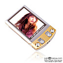2GB 2.4-inch MP3 / MP5 Players With FM & Digital Camera (SZM107)