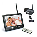 "2.4GHZ 7-Inch Baby Monitor with 1/4"" Sharp CCD Night Vision Camera"