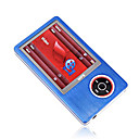 2gb de 2,4 polegadas mp3 / mp5 players com slot para carto azul (szm109)