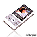 4GB 1.5-inch MP3 / MP4 Players With FM Function Silver(SZM093)