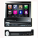 Pantalla táctil de 7 pulgadas 1 din in-car Dash DVD Player desmontable panel de soporte del iPod (szc741)