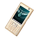 TT-V6 Dual Card Quad band TV Function Cell Phone Gold  (SZR689)