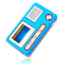 4gb mini mp3 players com alto-falante azul (szm208)