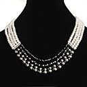 Generous White Freshwater Pearl Four-Strands Necklace SZY1774