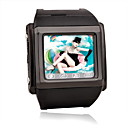 W600 Tri-Band Touch Screen Watch Phone Black