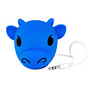 Cool Cartoon Bull Digital Speaker For IPOD/MP3 Player/PC/Notebook/DVD Player Blue (BH-01)