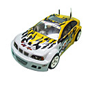 1:10 Scale  Winner Pro 4WD Nitro Gas Yellow Fire Super RC Racing Car (YX00141-3)