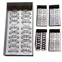 Fashion Lashes - 100 Pairs False Eyelash Mixed Style