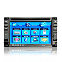 6.2-inch Touch Screen 2 Din In-Dash Car DVD Player TV and Bluetooth Function Support Ipod AK-6210BI