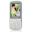 Dongjixing 680 Dual Card GSM+CDMA Bluetooth Touch Screen Cell Phone Argent