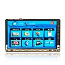 7-inch Touch Screen 2 Din In-Dash Car DVD Player with Ipod Port J-7682N (SZC592)