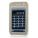 n77 PDA Dual-Karte Quad-Band Dual-Kamera Immobilie Touchscreen Business Slide Handy schwarz (szj001)