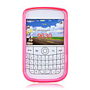 Colorful Flexible Crystal Case For Blackberry 9630