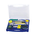 Tool Set With Plastic Box for Gift-Free Shipping(0588-DLM1023)