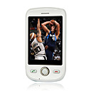Magic G2 Dual Card Dual Standby Dual Band Support T-FLASH Card Flat Touch Screen Cell Phone Black