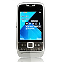 E72 Quad-Band-Karte zwei Dual-Standby-Immobilie Touch-Screen-Bar Telefon grauen 2 gb tf Karte (szxhy132)