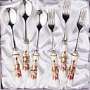 6-pc Luxury Ceramic Handle Kitchen Tableware set (0612-TA-04)
