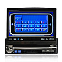 7-inch TFT Touch Screen 1 Din In-Dash Car DVD Player-GPS-TV-Bluetooth-FM-AM-Detachable Front Panel