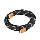 Cable HDMI macho a 28AWG macho para PS3 HDTV DVD (smqc155)