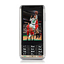 G9 Dual Card Dual Standby Dual Band Dual Bluetooth Flat Touch Screen Cell Phone Black (2GB TF Card)(SZ05450207)