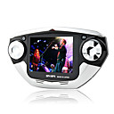 2gb fashion design da 2,8 pollici gioco multi-media player fm mp5/mp3 fotocamera digitale funzione e nero argento (shb591)
