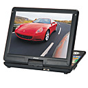 15 &quot;Lettore DVD portatile con funzione tv, porta USB, 3-in-1 card reader, giochi, cornice per foto digitali e computer display LCD (smqc171)