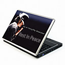 Michael Jackson Notebook Series Laptop couvrir autocollant de protection de la peau avec des peaux poignet (smq3421)