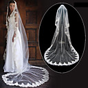 1 Layer Cathedral Length Wedding Veil (TS057) 500cm length