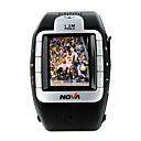 Nova N800 tri band bluetooth touch screen del telefono cellulare orologio nero e argento (2GB TF card) prezzo originale $ 109,99