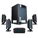 Microlab High Fidelity 5.1 Surround Speaker System with 170W Amplifier and Remote Control(SMQC262)