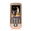 n98i dual card dual band touch screen del telefono cellulare in oro (2GB TF card) (sz05450334)