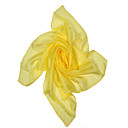 Yellow 100% Silk Women's Wrap/Scarf (063418)