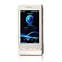 T5353 + Windows Mobile 6.1 gps wi-fi (carto de 2GB TF) java quad band touch screen bluetooth apartamento celular inteligente preto e prata (sz0458088