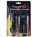 TrustFire TR002 Lithium Battery Charger for 10440/14500/17670/18500/18650 (100~240V)