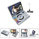 9,2-Zoll-Portable DVD-Player mit TV-Funktion, USB-Anschluss und 3-in-1 Card Reader (tra-291)