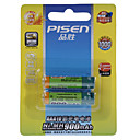 pisen 900mAh NI-MH bateras AAA recargables (2-Pack)