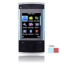 X3 Dual Card Quad Band Flashlight Slide Touch Screen Cell Phone (2GB TF Card)