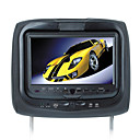 9.0 inch TFT-LCD Headrest DVD-USB-SD-FM Transimitter- 32 bit Game Function - infrared earphone-668